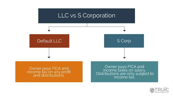 LLC and S Corp